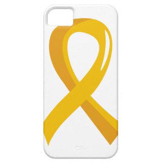Neuroblastoma Gold Ribbon 3 iPhone 5 Case
