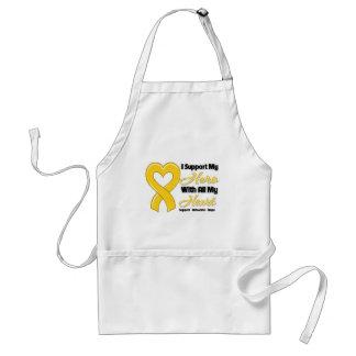 Neuroblastoma I Support My Hero With All My Heart Apron