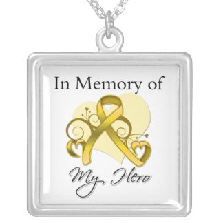 Neuroblastoma - In Memory of My Hero Necklaces