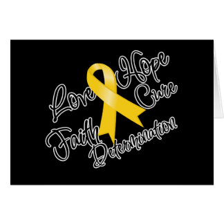 Neuroblastoma Love Hope Determination Greeting Card