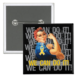 Neuroblastoma Rosie WE CAN DO IT Buttons