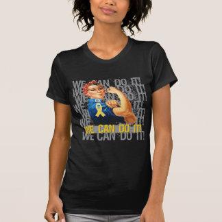 Neuroblastoma Rosie WE CAN DO IT Tshirts
