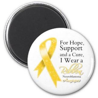 Neuroblastoma Support Hope Awareness Refrigerator Magnet