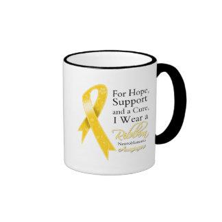 Neuroblastoma Support Hope Awareness Mugs