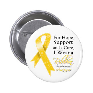 Neuroblastoma Support Hope Awareness Pin