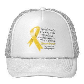Neuroblastoma Support Strong Survivor Mesh Hats