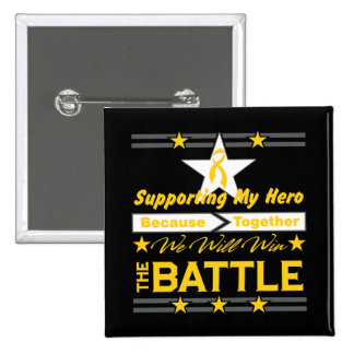 Neuroblastoma Supporting My Hero Button