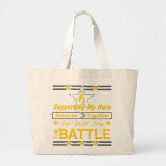 Neuroblastoma Supporting My Hero Canvas Bag