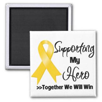 Neuroblastoma Supporting My Hero Refrigerator Magnet