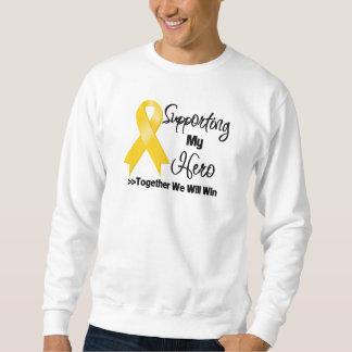 Neuroblastoma Supporting My Hero Sweatshirt