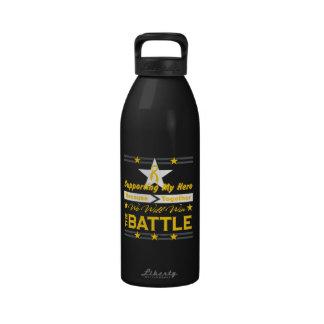 Neuroblastoma Supporting My Hero Drinking Bottle