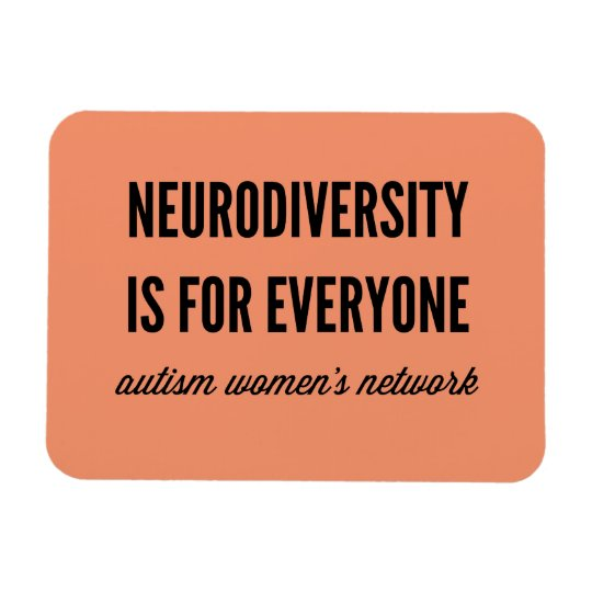Neurodiversity is for Everyone Flexi-Magnet Rectangular Photo Magnet