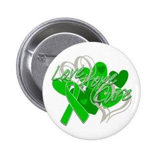 Neurofibromatosis Love Hope Cure 6 Cm Round Badge