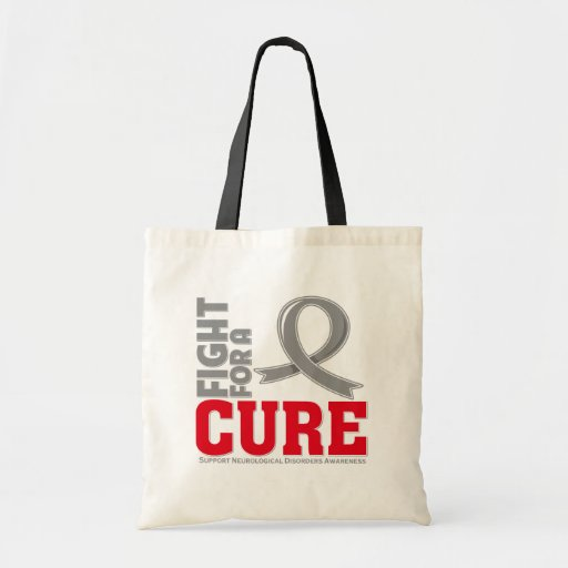 Neurological Disorders Fight For A Cure Tote Bags