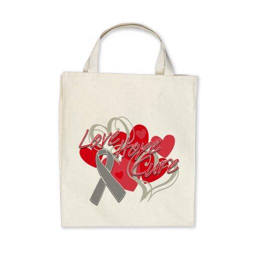 Neurological Disorders Love Hope Cure Tote Bag