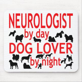 Neurologist Dog Lover Mouse Mat