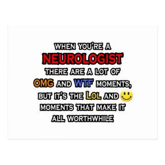 Neurologist ... OMG WTF LOL Postcard