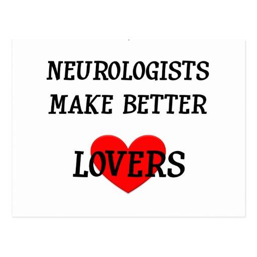 Neurologists Make Better Lovers Post Card