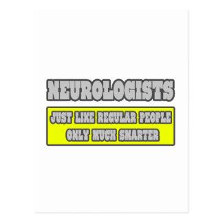 Neurologists...Much Smarter Postcard