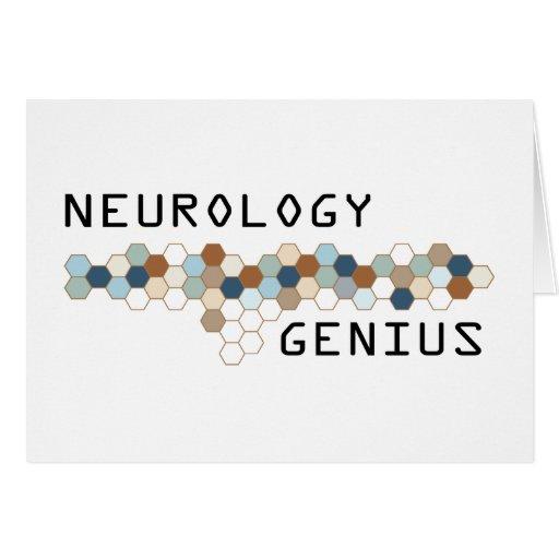 Neurology Genius Card