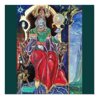 NEUROMANCER , red blue green Custom Invitations