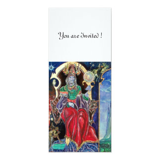 NEUROMANCER , red blue,white 4x9.25 Paper Invitation Card