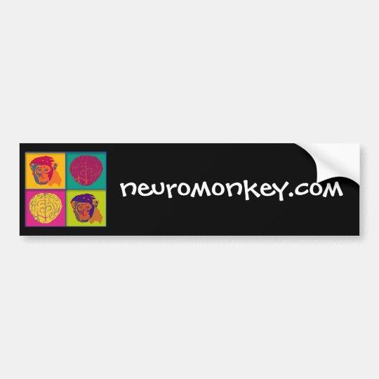 Neuromonkey logo bumper sticker