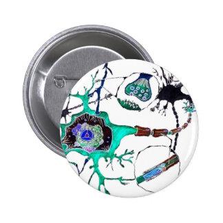 Neuron! 6 Cm Round Badge