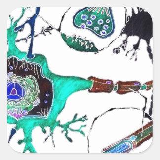 Neuron! Square Sticker