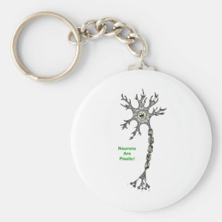 Neurons Are Plastic! Key Ring