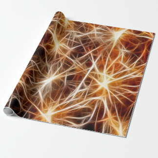Neurons Medical Style Wrapping Paper