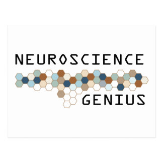 Neuroscience Genius Postcard