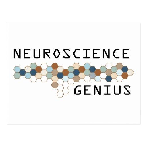 Neuroscience Genius Postcards