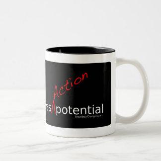 "Neuroscience Has ""Action"" Potential Mug"