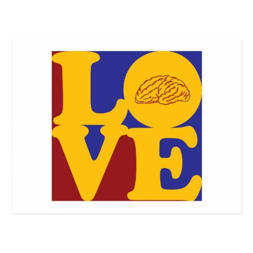 Neuroscience Love Post Cards