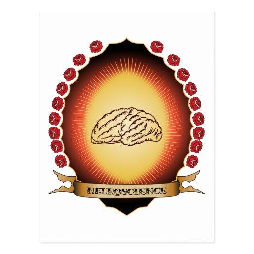 Neuroscience Mandorla Postcard