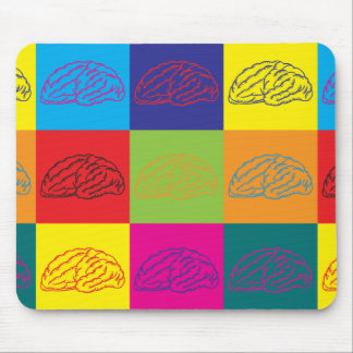 Neuroscience Pop Art Mouse Mat