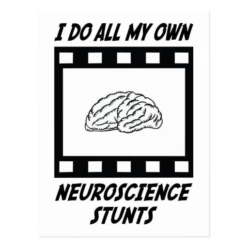 Neuroscience Stunts Post Cards