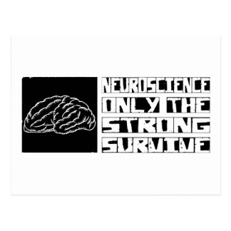 Neuroscience Survive Postcard