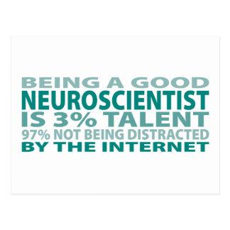 Neuroscientist 3% Talent Postcard