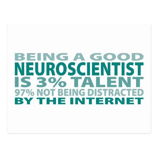 Neuroscientist 3% Talent Postcards