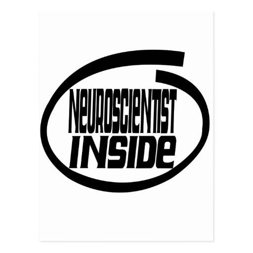 Neuroscientist Inside Postcard