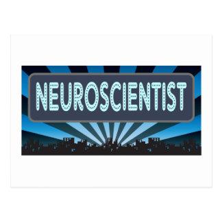 Neuroscientist Marquee Postcard