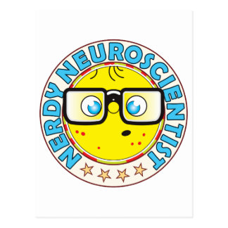 Neuroscientist Nerdy Postcard