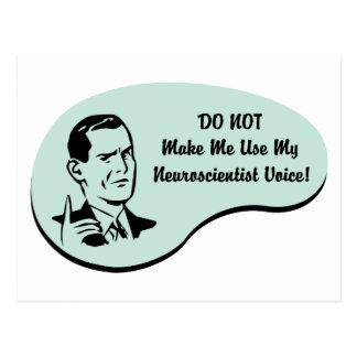 Neuroscientist Voice Postcard