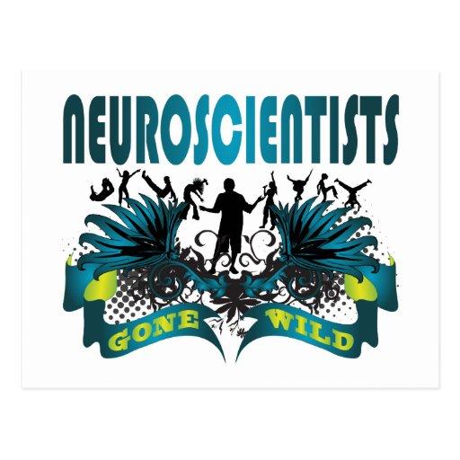Neuroscientists Gone Wild Postcard