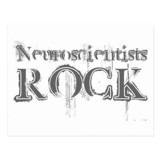 Neuroscientists Rock Postcard