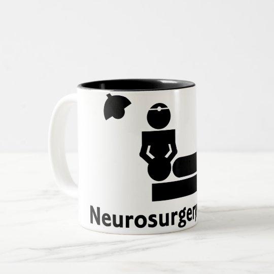 Neurosurgery Freak Coffee Cup (white & black)