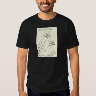 Neurotic Owl Drops his Ice Cream Tshirt