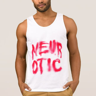 Neurotic (Red) Pull Over Sweatshirts